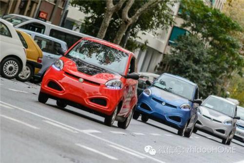 知豆纯电动汽车低碳出行