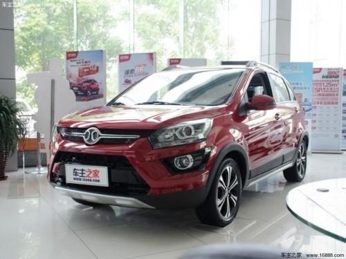 北京绅宝X25价格最低3.98万起售 现车充足高清图片