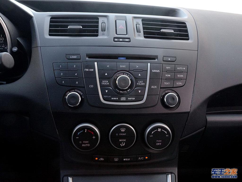中控面板 马自达5 2011款 2.0l 自动豪华型内饰图片