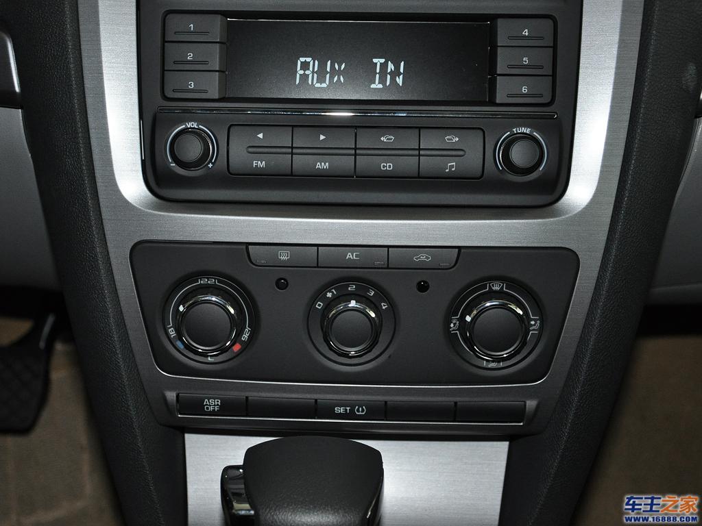 空调系统|明锐 2010款 1.6l 自动逸尊版内饰图片 –