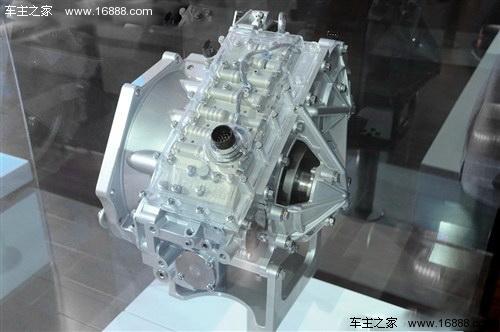 无级变速箱的传动钢带使用博世第七代钢带,并且使用了新型液压控制图片