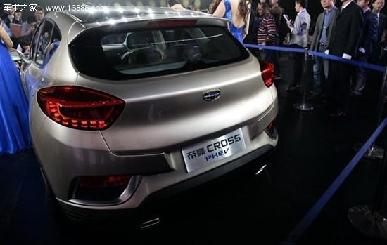 吉利发布帝豪CROSS概念车 首次采用新LOGO高清图片