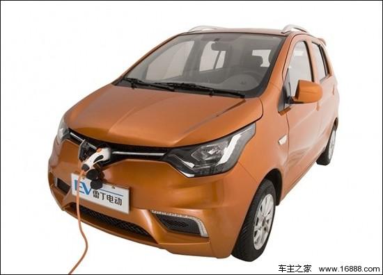 雷丁D70电动车正式上市 售3.99 4.99万元高清图片