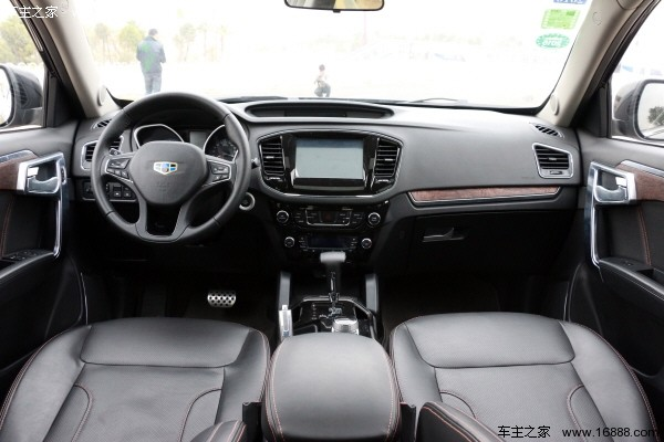 吉利豪情SUV试驾评测 七座不是非买MPV不可高清图片