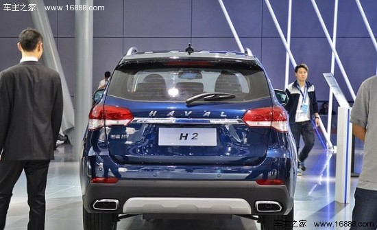 15上海车展 长城哈弗H2蓝标车型发布高清图片