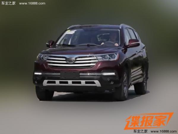 力帆X80将七月上市 全新七座SUV