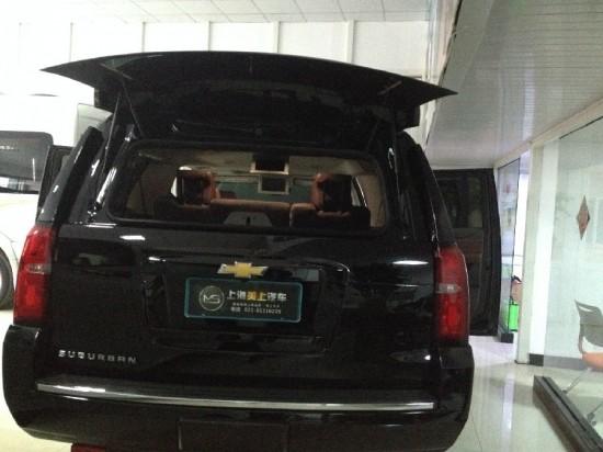 美国全尺寸越野车雪佛兰大越野SUV上海店车高清图片