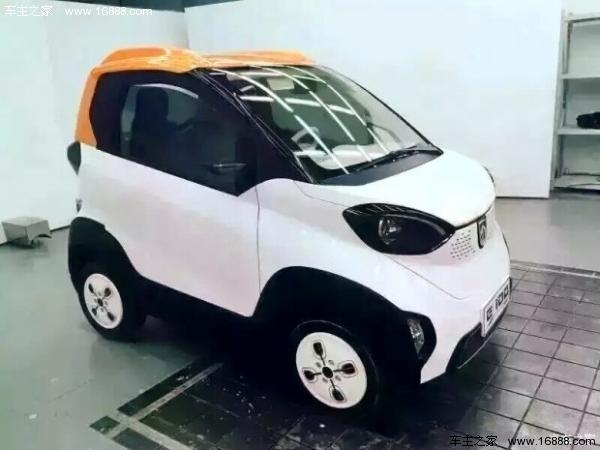 宝骏也将出电动车 宝骏E100电动车2017年上市高清图片
