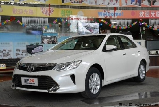 哈尔滨丰田全新凯美瑞将于2017年年底正式上市高清图片