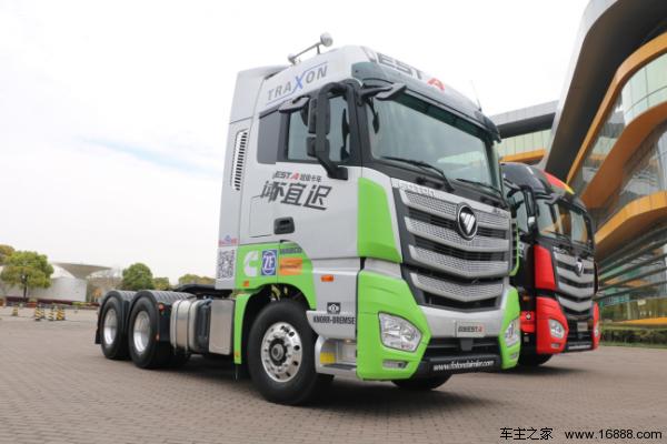 2017流行时尚&欧曼est超级卡车上市发布会在沪举行图片